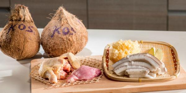KOS椰子煲雪耳雞湯-2